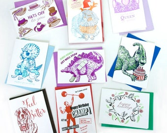 BUY 10 cards -choose your own assortment