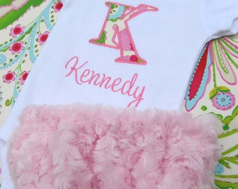 Diaper cover- Personalized baby girl set- Diaper Cover Set- Baby girl diaper cover set