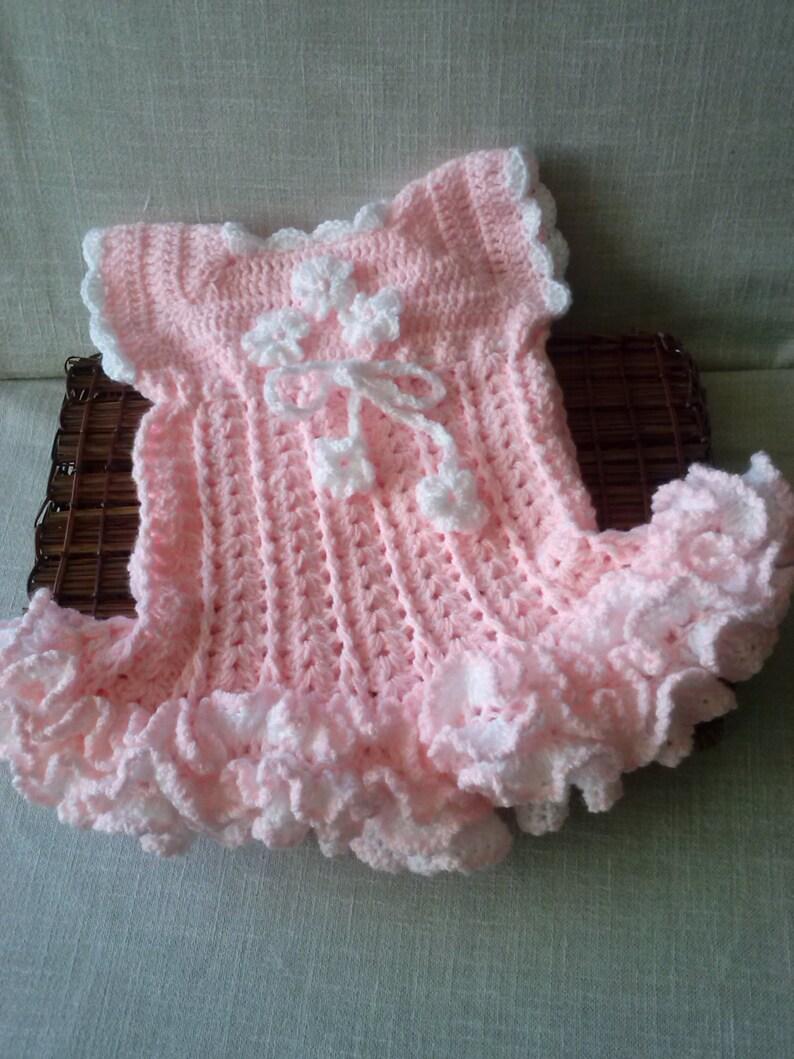Girls Dresses Pink Dress Crochet Dress Baby Fashion Tutu Etsy