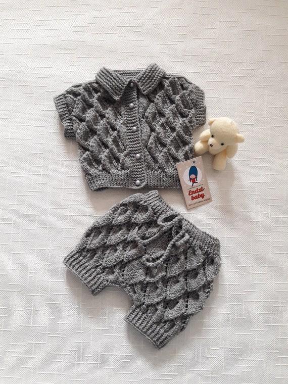 Stricken Babywindel windelabdeckung Geburtstag Outfit Strick | Etsy