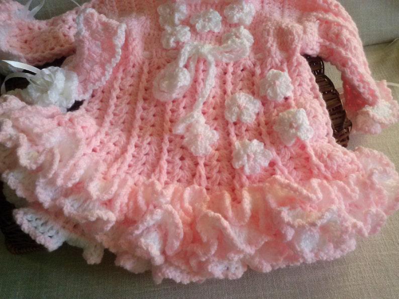 Baby ruffle dress Baby Shower Gift Girls dresses Newborn Tutu Newborn Baby Gift Tutu dress Pink Baby Tutu dress Pink Baby Tutu Dress