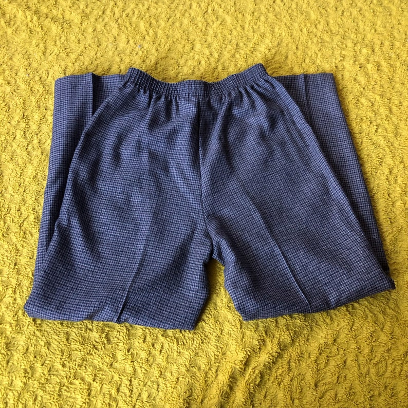 Houndstooth Knit Pants 8 90\u2019s
