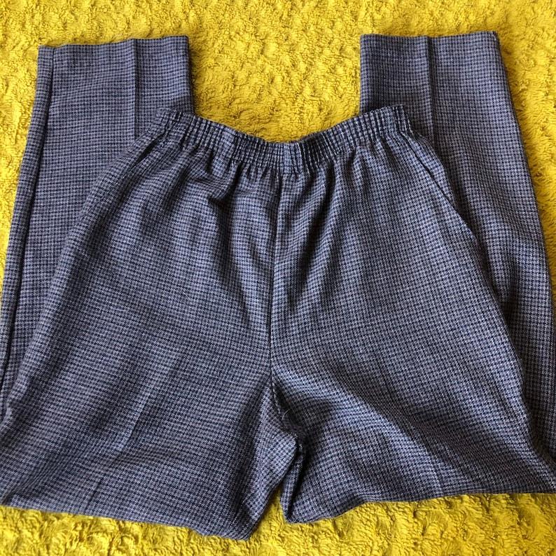 90\u2019s 8 Houndstooth Knit Pants