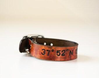 3/4 inch leather cuffs