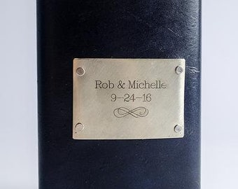 Wedding Date Personalized Flask with Custom Date