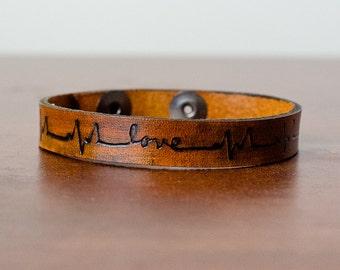 1/2 inch leather cuffs