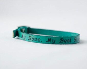 My Love, My Best Friend Single Wrap Bracelet