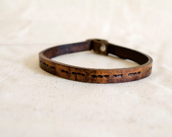 Featured listing image: Morse Code Bracelet