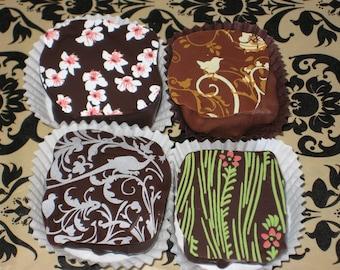 Box of 4 Handmade Chocolate Truffles From Montana