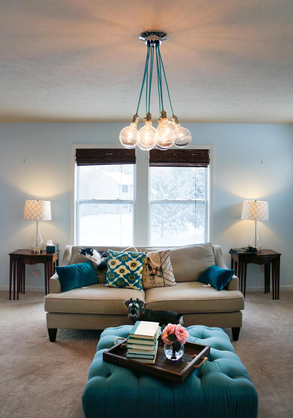 Wohnzimmer Kronleuchter benutzerdefinierte Farben und Längen