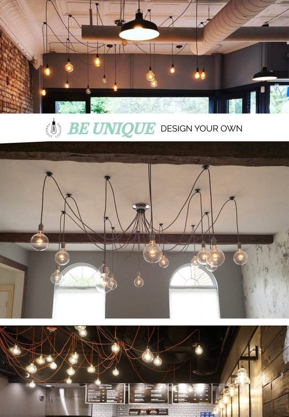 Swag Chandelier: Design Your Own 9 Pendant