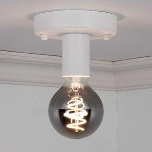 Simple Black Flush Mount Lighting Hallway Ceiling Mount Etsy