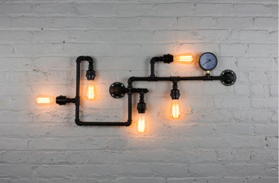 Tubo lampadina vintage edison industriale illuminazione etsy