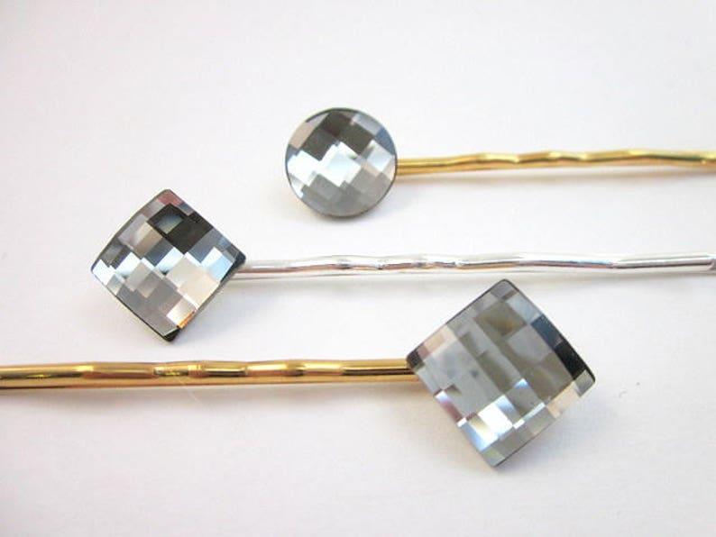 eb675c54f Crystal Hair Pins Small Hair Pin Sparkling Hair Pin   Etsy