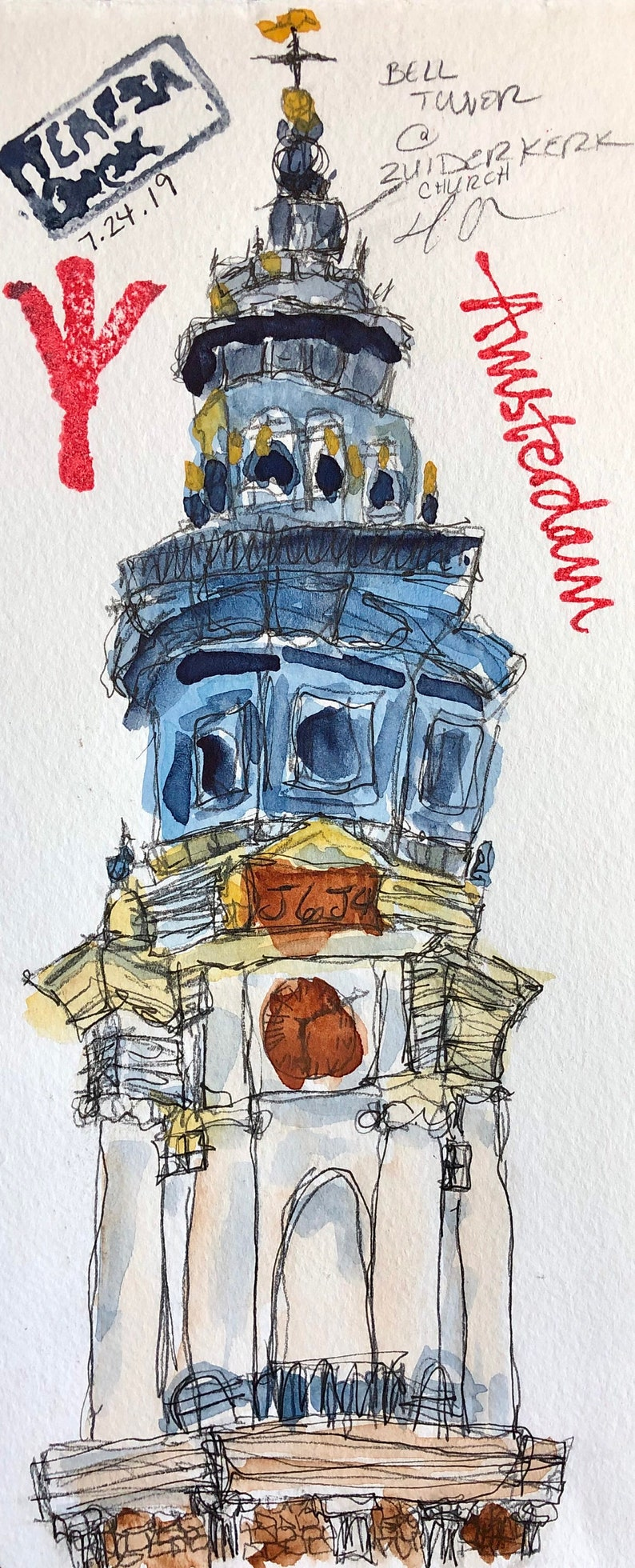 Bell Tower-Print image 0