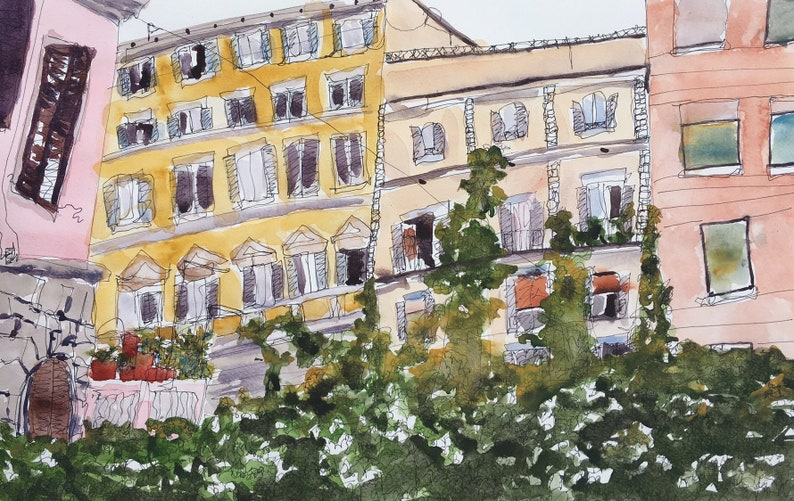 Rome Living Print image 0