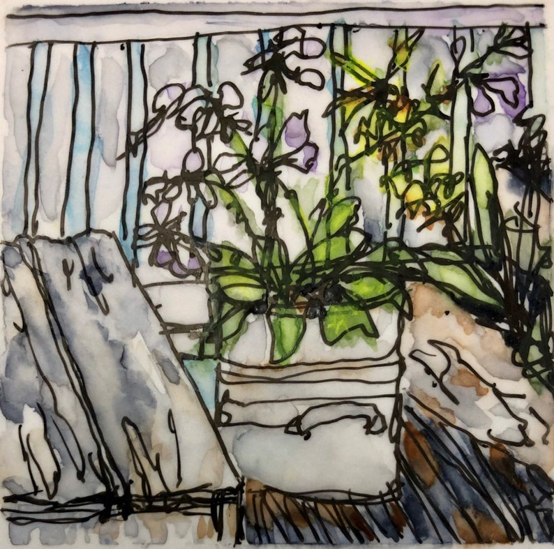Suzanne's Balcony-print image 0