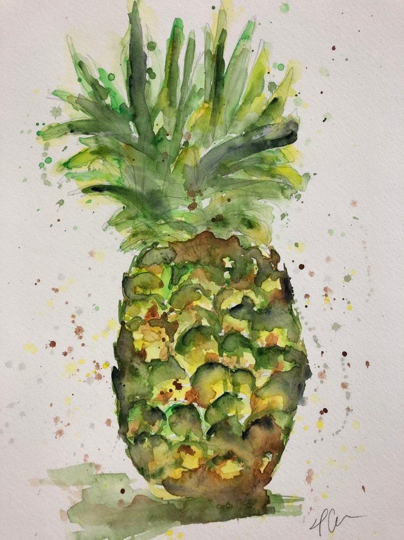 Pineapple print image 0