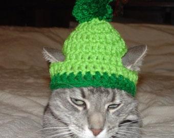 7cf97254ea8 Handmade Crochet Santa Grinch Elf Cat Hat Cap Beanie