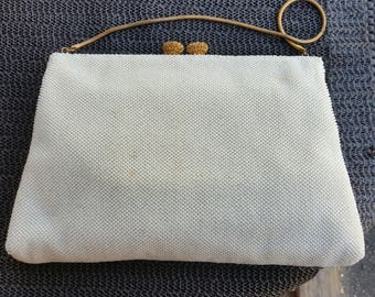 Vintage 1960's beaded purse made in FRANCE for john wanamaker