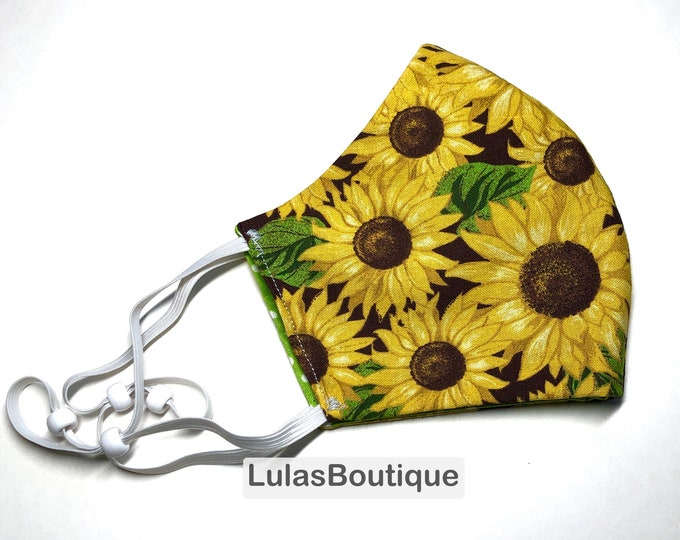 Sunflowers Face Mask