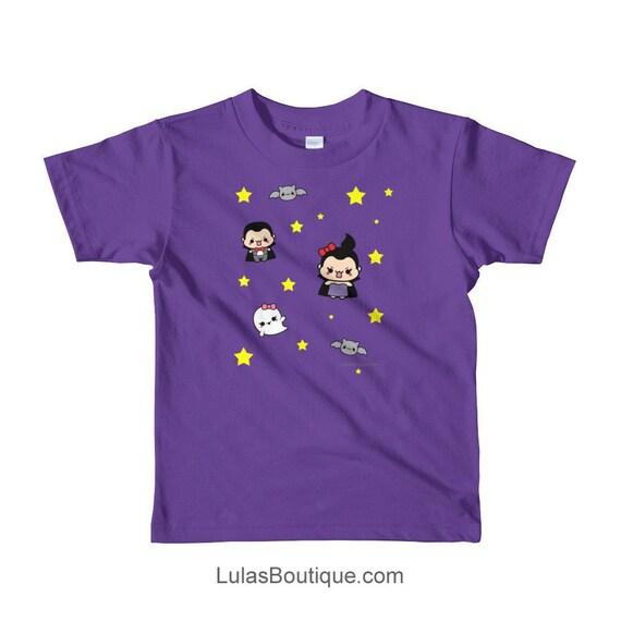 Spooky Cute Vampire Short sleeve kids t-shirt