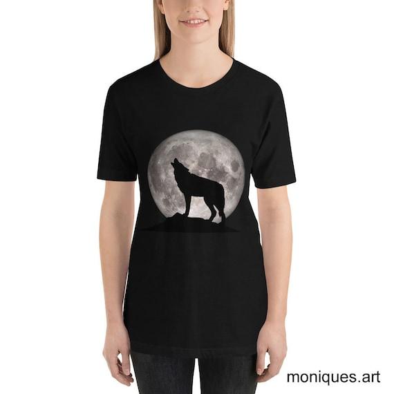 Howling Wolf Short-Sleeve Unisex T-Shirt