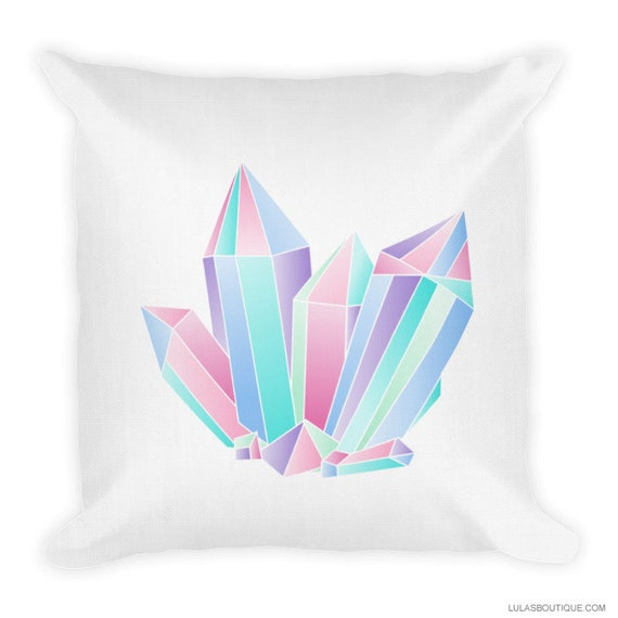 Pastel Crystals  Premium Pillow