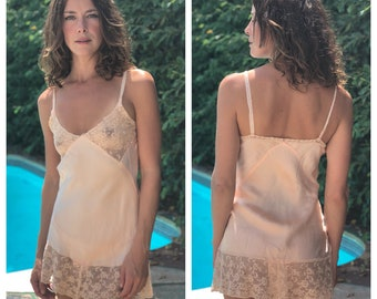 0ae3948727d6 1920s Silk Teddy   Blush Champagne Step-In   Peekaboo Lace Cut Outs Lingerie    Ethereal Wedding Night Pjs   Bridal Garment   Millennial Pink