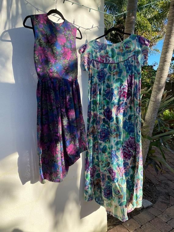 Virtual Garage Sale Dress / 50's Dress Lot / Chea… - image 6