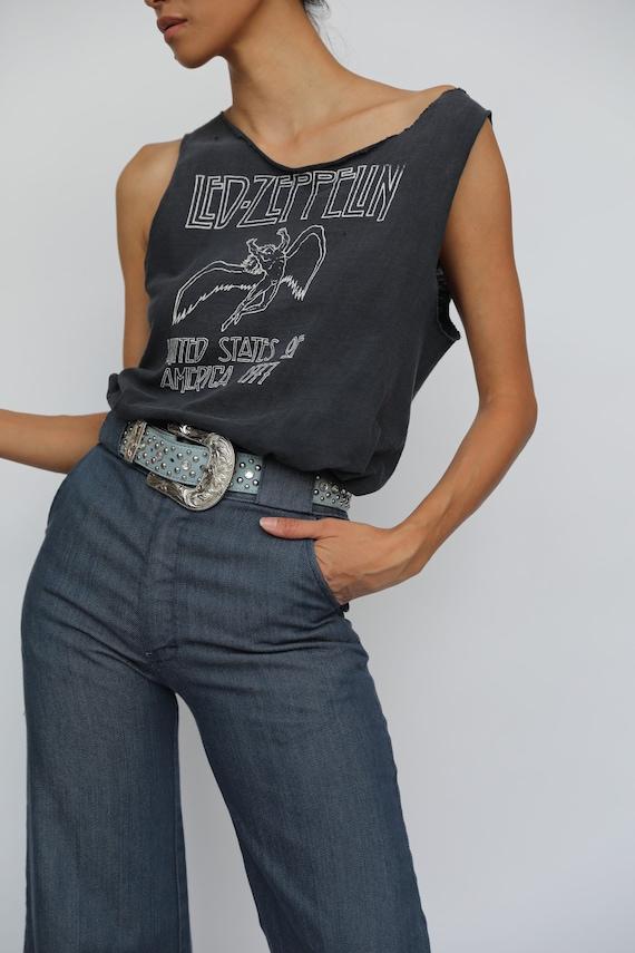 Led Zeppelin Tshirt / Vintage USA Tour 1977 1979 … - image 6