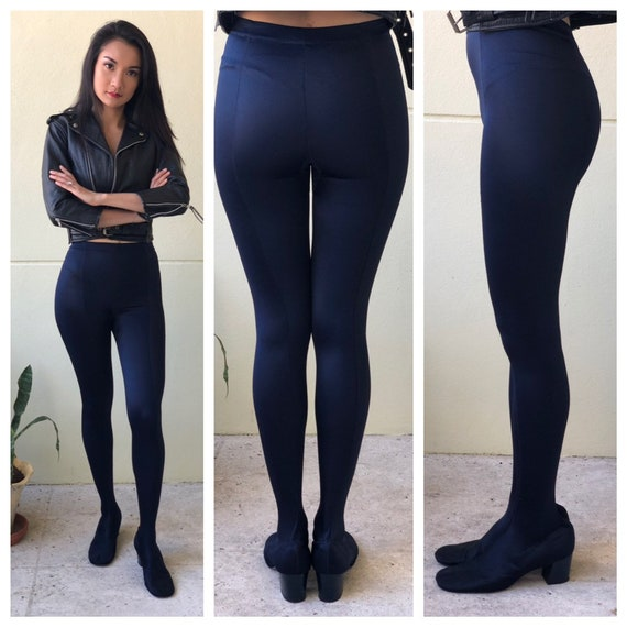 1960s Pan-T Mod Legging Boots / Mod Boots / All i… - image 1