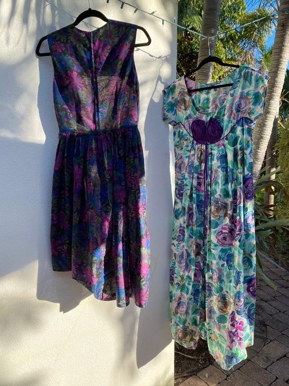 Virtual Garage Sale Dress / 50's Dress Lot / Chea… - image 3