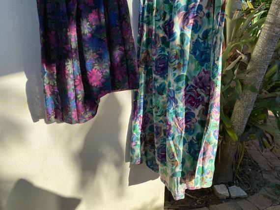 Virtual Garage Sale Dress / 50's Dress Lot / Chea… - image 5