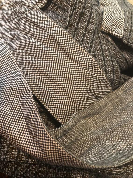 Antique Chore Dress / 1910's Cotton Workwear Tuni… - image 10
