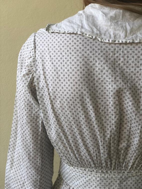 Antique Cotton Dress / 1910's Cotton Workwear Dre… - image 7