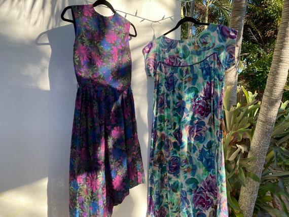Virtual Garage Sale Dress / 50's Dress Lot / Chea… - image 4