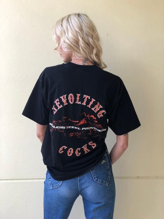 Vintage Revolting Cocks Tshirt / Industrial Nineti