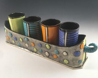 Tumbler Set,Wine Goblets,Polkadot Set,Juice Glasses,Bright Cup Set