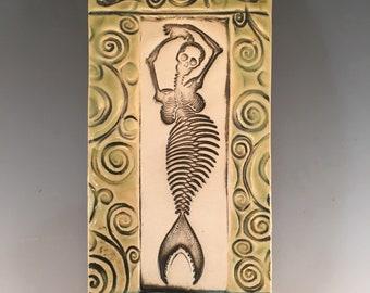Mermaid Wall Tile