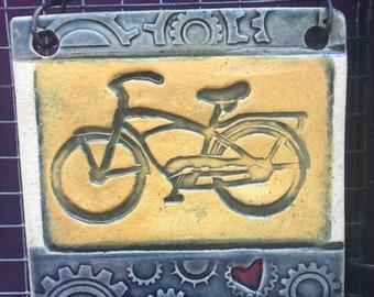Bike Tile,Cruiser Tile,Bike Love,Bike,Tile