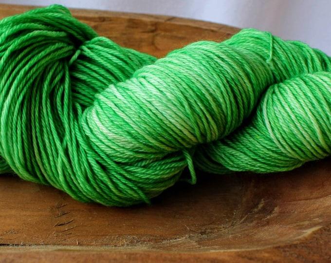Green Sock Yarn