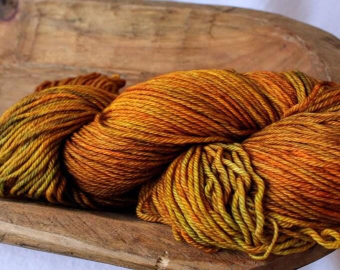 Pumpkin Orange Sport Sock Yarn