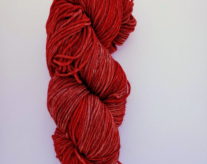 Brick Red Sock Yarn