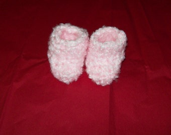 Slipper Socks, 6 -12 Months, Pink, Baby Girl Booties Socks