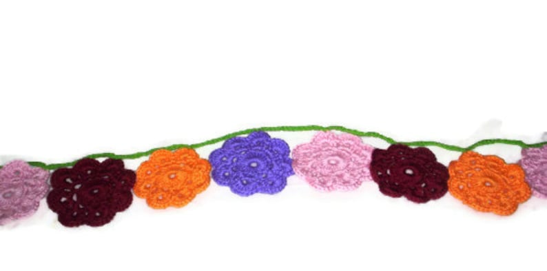 Flower Garland Hanging Party Banner Maybelle Flower Home image 0