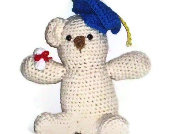 Amigurumi Graduation Bear Class Of 2013