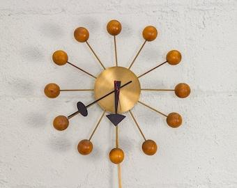 81656936ebd5 Original 1950s George Nelson Brass Ball Clock