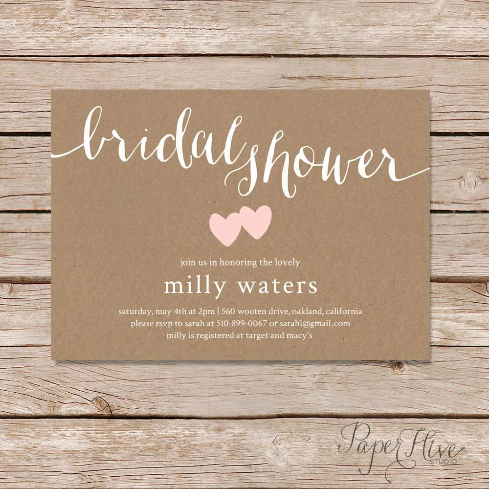 This is a photo of Stupendous Bridal Shower Invitations Printable