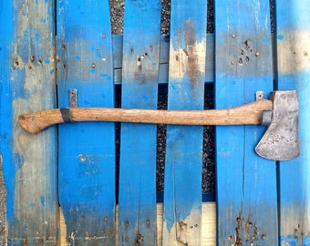 Two Ax Hooks with Screws Included - How to Hang an Axe on the Wall
